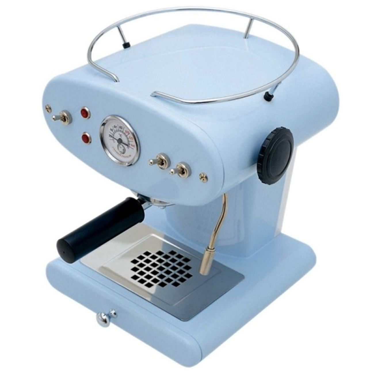 FRANCIS FRANCIS X1 TRIO PROFESSIONAL LIGHT BLUE < Illy espresso ...