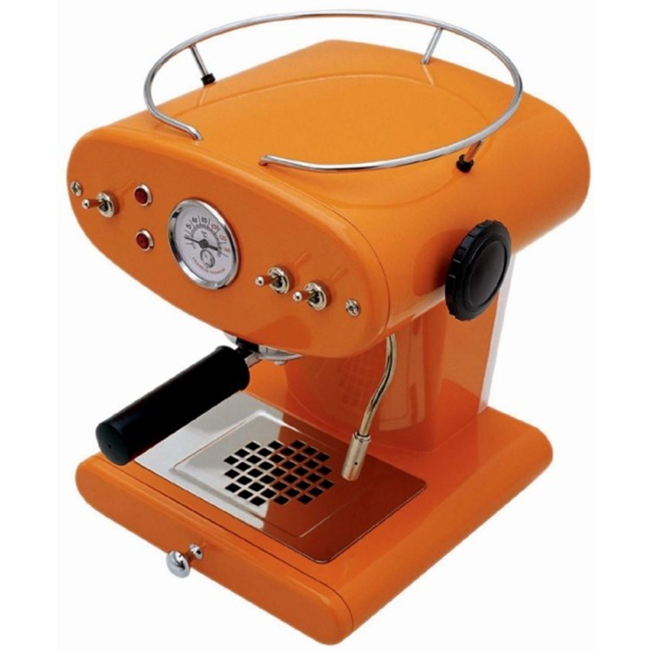 FRANCIS FRANCIS X1 TRIO PROFESSIONAL ORANGE < Illy espresso ESE ...