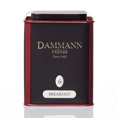 BREAKFAST - DAMMANN LOOSE BLACK TEA TIN 100gr. / 18-20-2012 < Black tea