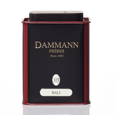 BALI- LOOSE GREEN TEA DAMMANN TIN 90gr / 18-20-2021 < Flavored green tea