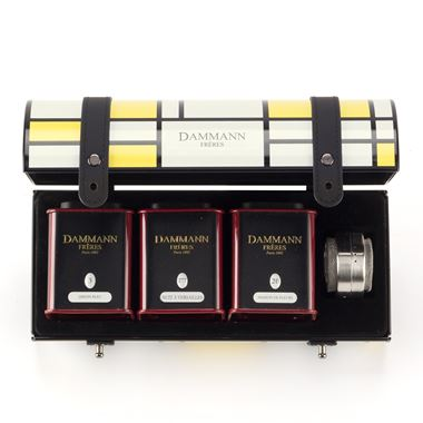 COFFRET DAMMANN CHARLESTON / 18-20-5017 < Tea Gift Sets