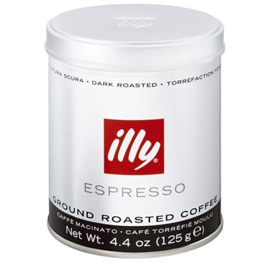 GROUND COFFEE ILLY INTENSO (Scuro) 125g / 01-03-0002 < Ground Coffee