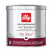 IPERESPRESSO INTENSO (Scuro) 21 ΚΑΨΟΥΛΕΣ / 01-04-0052 < Κάψουλες Iperespresso illy