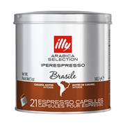 IPERESPRESSO BRAZIL ARABICA SELECTION 21 ΚΑΨΟΥΛΕΣ / 01-04-0060 < Κάψουλες Iperespresso illy