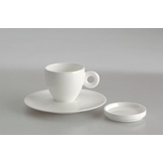 CHINA KIT – 2 ESPRESSO CUPS, 2 SAUSERS,2 LIDS / 02-02-9800 < Cup kits