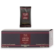 TEA DAMMANN 4 FRUIT ROUGE 24 Cristal tea bags / 18-20-0105 < Flavored black tea