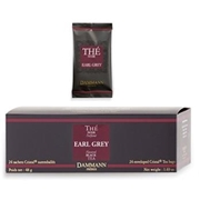 TEA DAMMANN EARL GREY 24 Cristal® tea bags / 18-20-0102 < Flavored black tea