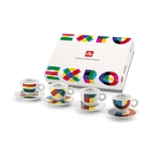 EXPO 2015 - 4 cappuccino cups / 02-02-4003 < Collection Cups