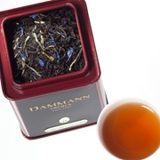 EARL GREY YIN ZHEN –BLACK FLAVOURED TEA DAMMANN TIN 100gr. / 18-20-2001 < Flavored black tea