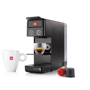 OFFER - IPERESPRESSO Y3.2 E+C BLACK + 6 HEART MAROCCINO GLASSES / 71-02-9724 < Espresso capsules machines