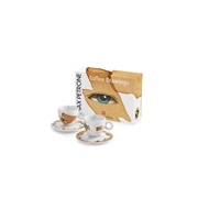 GIFT SET MAX PETRONE   2 CAPPUCCINO CUPS  / 02-02-6043 < Collection Cups