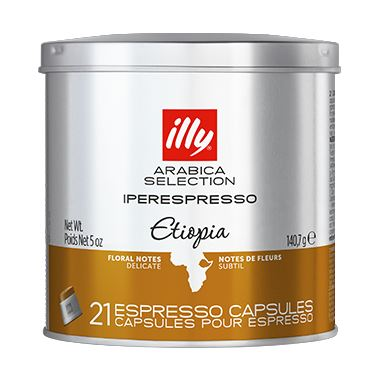 IPERESPRESSO ETIOPIA ARABICA SELECTION  21 ΚΑΨΟΥΛΕΣ / 01-04-0062 < Κάψουλες Iperespresso illy