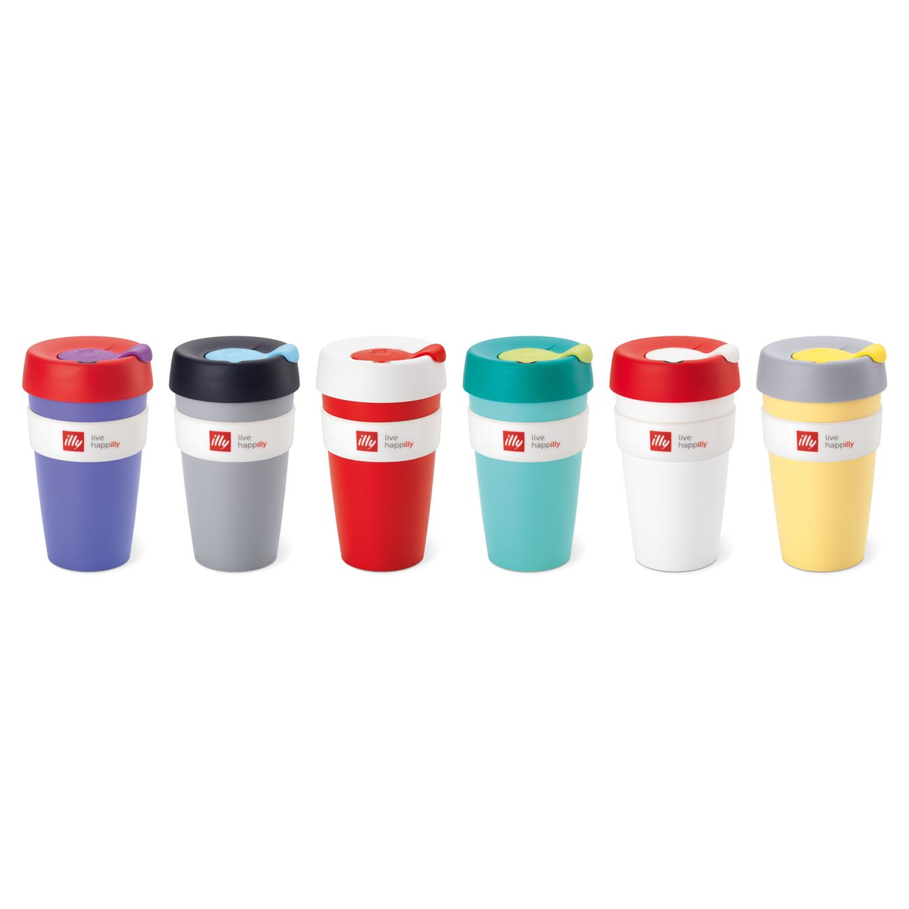 KEEP CUP LIVE HAPILLY / TRAVEL MUG < Accessories   IllyShop
