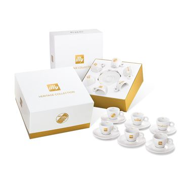 GIFT SET HERITAGE CUPS 6 ESPRESSO CUPS / 02-02-6030 < Collection Cups