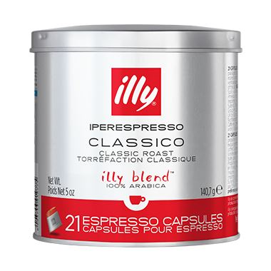 IPERESPRESSO CLASSICO (Normale) 21 ΚΑΨΟΥΛΕΣ / 01-04-0051 < Κάψουλες Iperespresso illy