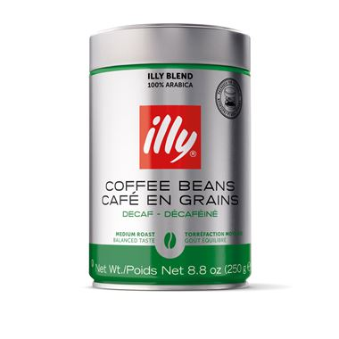 ILLY COFFEE BEANS DECAF 250g / 01-02-0005 < Whole Beans