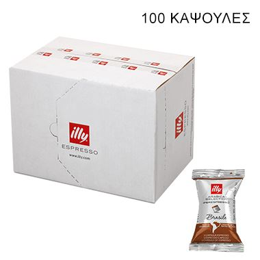 IPERESPRESSO SINGLE FLOWPACK BRAZIL ARABICA SELECTION 100KAΨ / 01-04-1010 < Κάψουλες Iperespresso illy