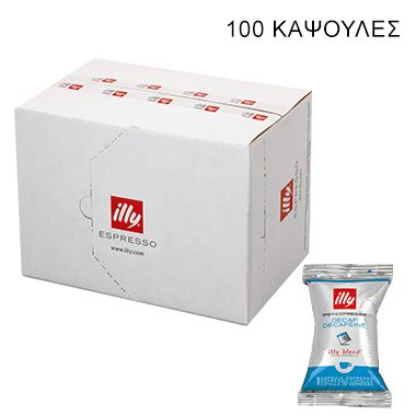 IPERESPRESSO SINGLE FLOWPACK DECAF 100 ΚΑΨ. / 01-04-1002 < Κάψουλες Iperespresso illy